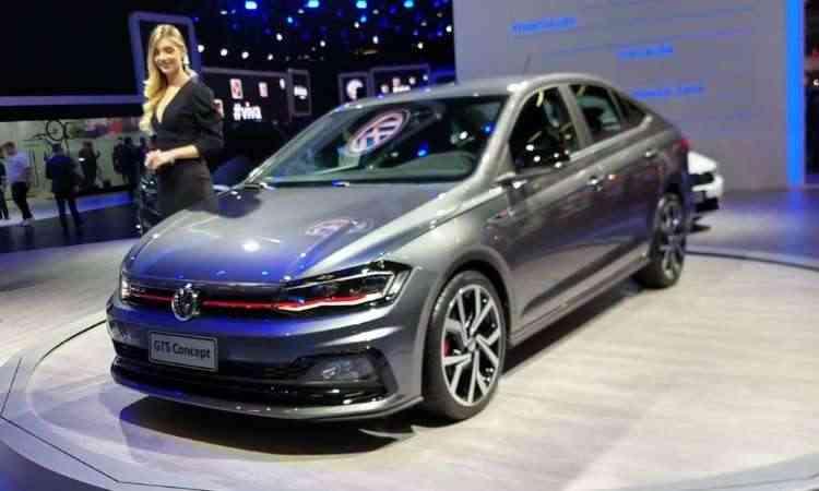 O Virtus GTS foi apresentado como conceito, mas será vendido como versão esportiva