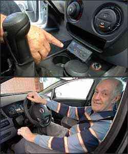 Embreagem computadorizada automatiza a transmissão do veículo.