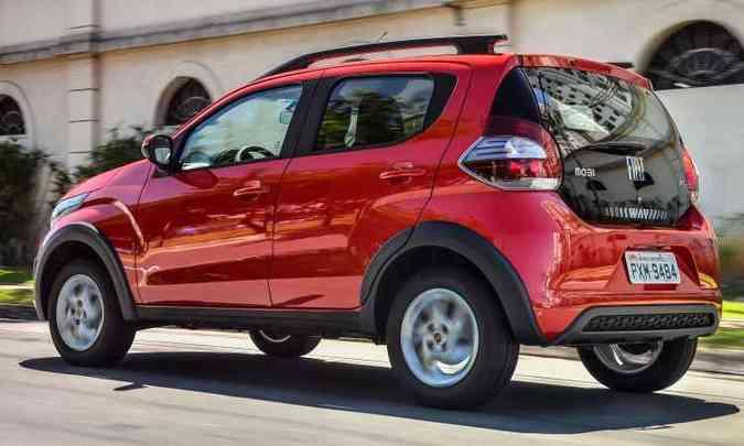Versão aventureira Way difere pela maior altura, rodas e para-choques exclusivos(foto: Fiat/Divulgação)