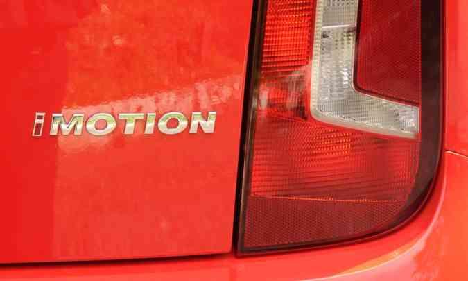 Volkswagen mantém o I-Motion apenas no compacto up!(foto: Jair Amaral/EM/D.A Press)