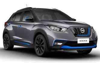 Modelo recebeu novo design e tem mais estilo. Foto: Nissan / Divulgação