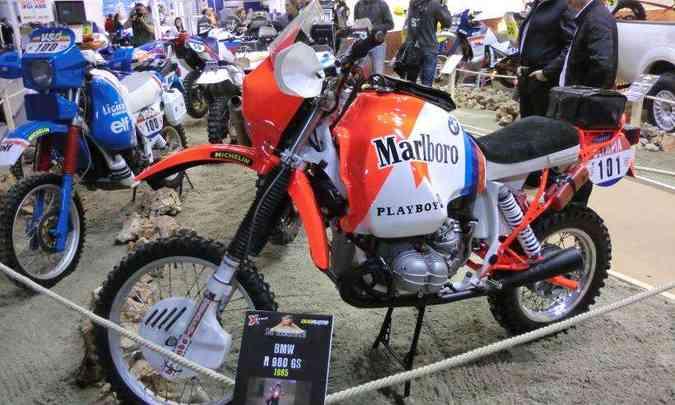 A R 980 GS foi vencedora no rali Paris-Dakar de 1985(foto: BMW/Divulgação)