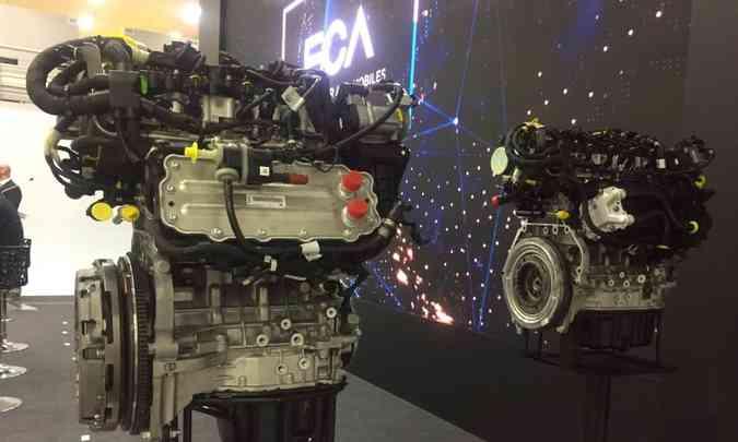 Nos novos motores turbo da Fiat serão usados em diferentes modelos da marca(foto: Enio Greco/EM/D.A Press)