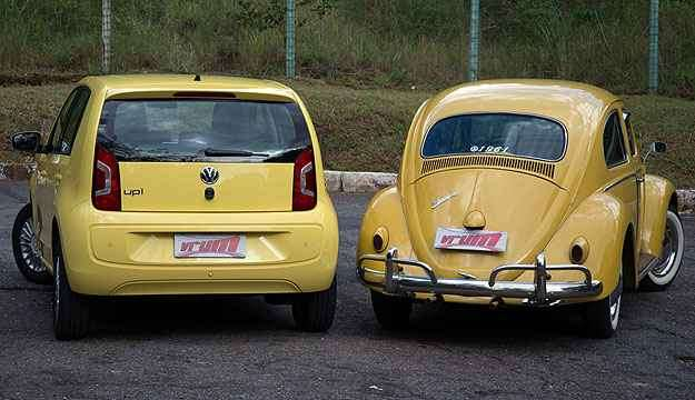 Décadas de tecnologia separam os dois veículos, mas baixo custo e economia os unem - Thiago Ventura/EM/D.A Press