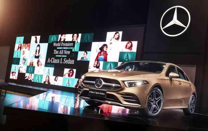 Ainda não se sabe o preço nem quando o veículo chegará às lojas da marca na China(foto: Mercedes-Benz/Divulgacao)