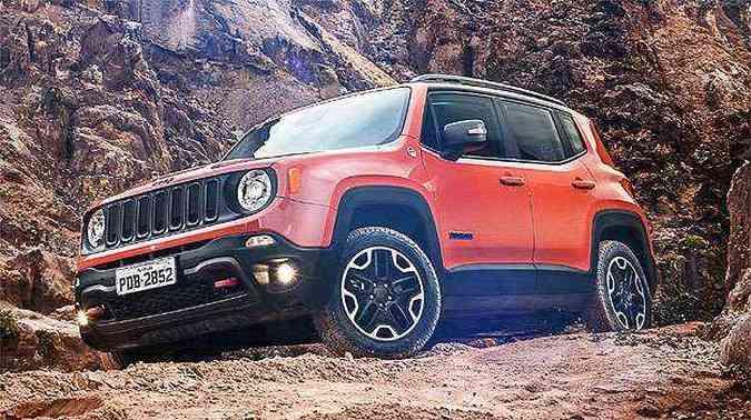 Sem completar um mês de vendas, Renegade teve 575 unidades vendidas em abril(foto: Jeep/Divulgação)