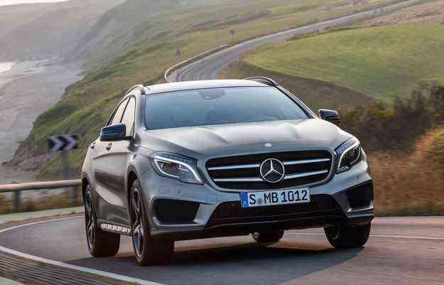 GLA será fabricado no Brasil a partir de 2016 - Mercedes-Benz/divulgação