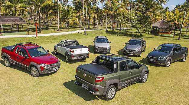 Picape está disponível em seis versões de R$ 33,7 mil até R$  54.3 mil - Fiat/Divulgação