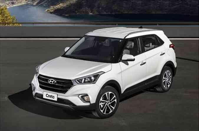 SUV compacto da Hyundai atingiu seus melhores números desde o lançamento(foto: Hyundai/Divulgação)