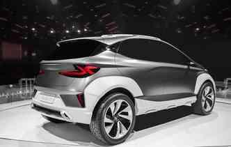Modelo elétrico ainda é conceito. Foto: Hyundai / Divulgação