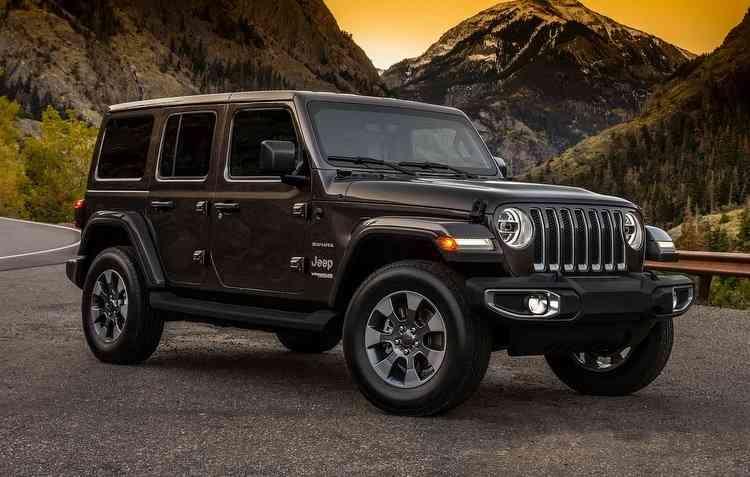 Novo visual do Jeep Wrangler é revelado