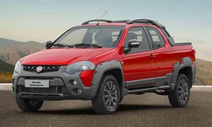 Mesmo se despedindo do mercado, Fiat Strada foi a picape mais vendida(foto: Fiat/Divulgação)