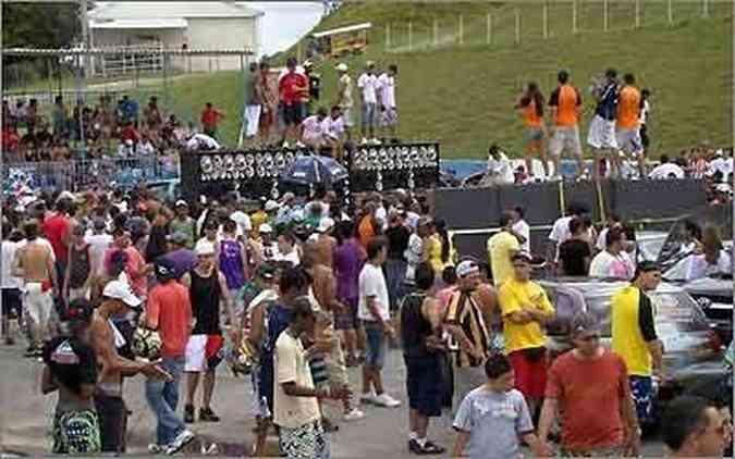 O público compareceu em massa para conferir os melhores sons do estado