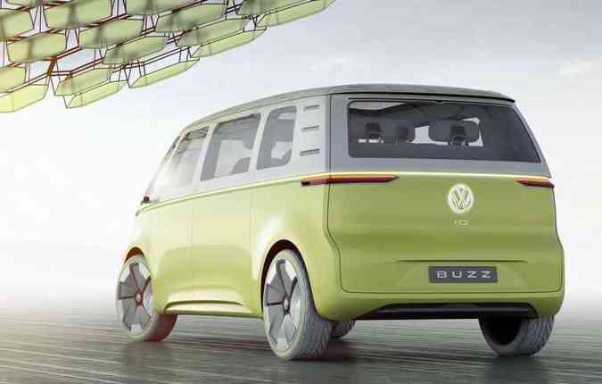 Veículo terá uma bateria de 111 kWh que alimenta dois motores, somando 374 cavalos de potência(foto: Volkswagen/Divulgação)