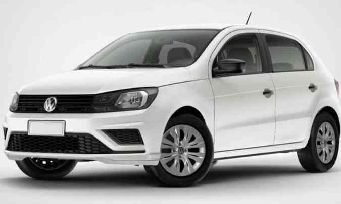 Gol sai de fábrica em versão única, MY20, equipado com ar-condicionado, direção hidráulica, entre outros(foto: Volkswagen/Divulgação)