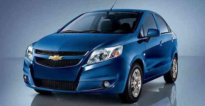 Chevrolet Sail é uma opção para o mercado brasileiro (foto: Chevrolet/Divulgação)
