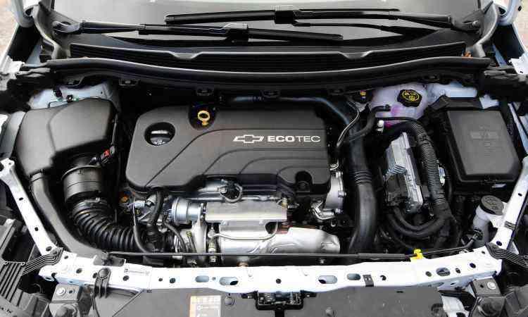 Com injeção direta, motor 1.4 turbo é ágil e econômico, com respostas rápidas -
