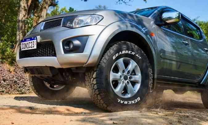 O novo Grabber A/TX foi projetado para oferecer resistência em situações de fora de estrada(foto: Continental/Divulgação)