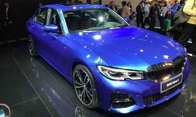 A BMW traz o novo Série 3, seu modelo mais vendido(foto: Pedro Cerqueira/EM/D.A Press)