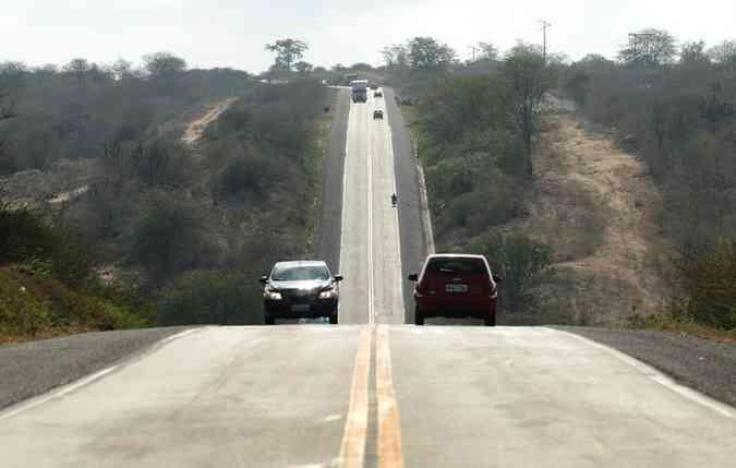 Vias livres servem para testar a potência do motor nas acelerações e ultrapassagens. Foto: Paulo Paiva / DP(foto: Paulo Paiva / DP)