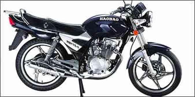 Motocicleta HB 125 tem partida elétrica, freio a disco dianteiro e painel completo