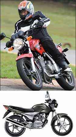 Twister 250 terá visual inspirado na Hornet 600. CG 150 Sport usará o mesmo motor com injeção da Titan 2009 - Caio Mattos/Honda/Divulgação