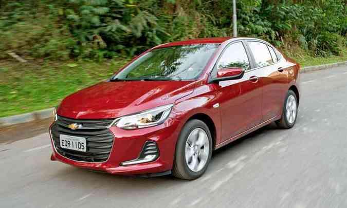 Chevrolet Onix Plus(foto: Chevrolet/Divulgação)