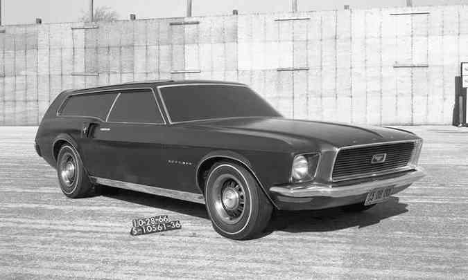 1966: estilo shooting brake(foto: Ford/Divulgação)