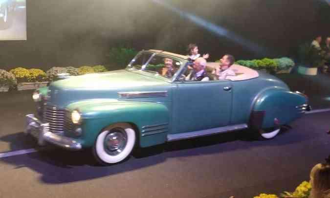 Cadillac 1941 muito bem conservado, mas nunca restaurado(foto: Pedro Cerqueira/EM/D.A Press)