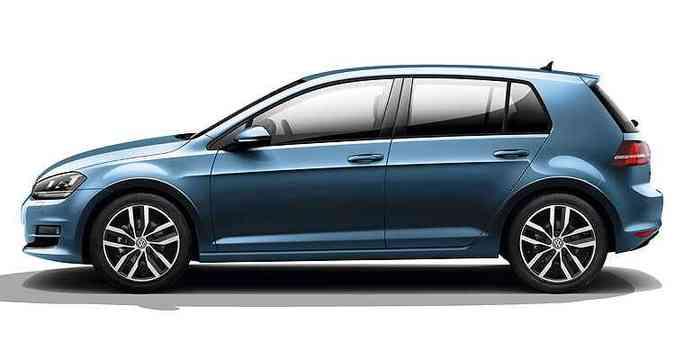 A sofisticada suspensão multilink foi subsituída pelo eixo de torção, exceto na versão GTI(foto: Volkswagen/Divulgação)