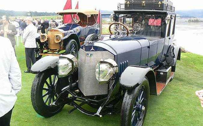 Mercedes-Benz 1915(foto: Boris Feldman/EM/D.A Press )
