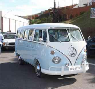A VW Kombi, é claro, não poderia ficar de fora do evento(foto: Edésio Ferreira / EM / D.A Press)