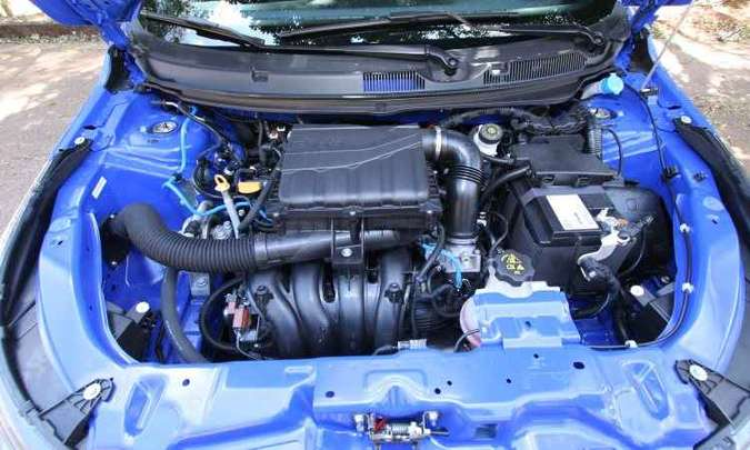 Motor 1.8 desenvolve 139cv com etanol, mas desempenho não é dos melhores(foto: Edésio Ferreira/EM/D.A. Press)