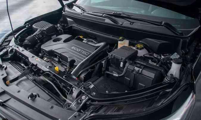O motor 1.5 turbo tem injeção direta de combustível e desenvolve 172cv de potência máxima(foto: Chevrolet/Divulgação)