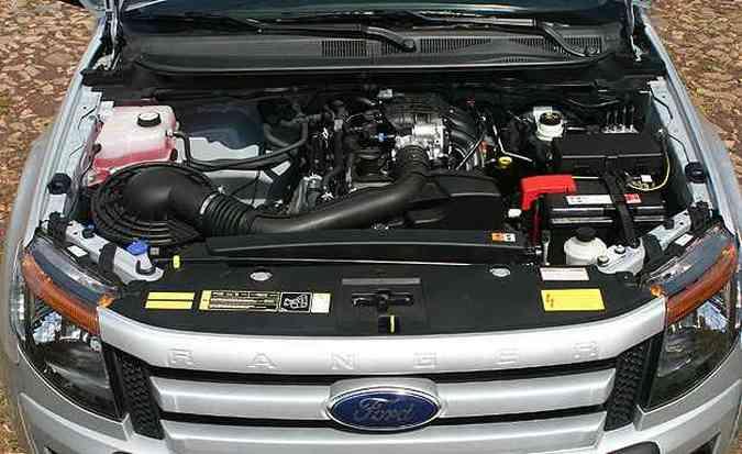 Motor 2.5 tem bom rendimento mas bebe na mesma proporção(foto: Paulo Henrique Vivas/Esp.EM/D.A Press )
