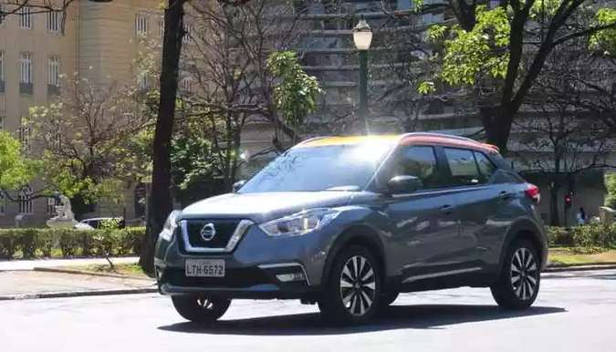 Nissan Kicks(foto: Jair Amaral/EM/D.A Press)