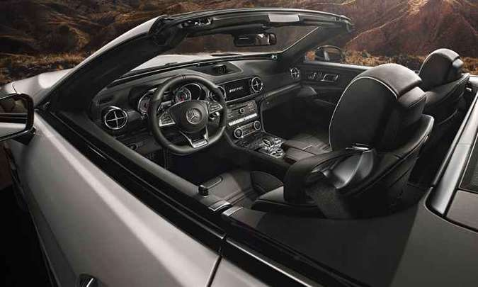 SL 63 AMG traz sistema Airscarf, que aquece o nível do pescoço dos ocupantes(foto: Mercedes-Benz/Divulgação)