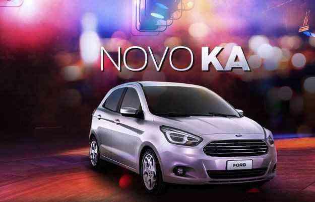 Interessados podem se cadastrar para receber novidades do carro - Ford/Divulgação