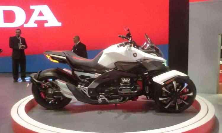 Triciclo Honda Neowing híbrido - Téo Mascarenhas/EM/D.A Press