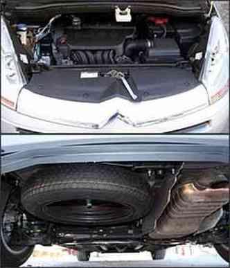 Motor 2.0 tem 143 cv de potência. Posição ruim do estepe sob porta-malas