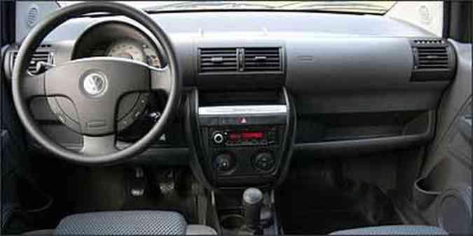 Interior funcional é um dos atrativos do modelo(foto: Fotos: Marlos Ney Vidal/EM/D.A Press - 29/6/08)