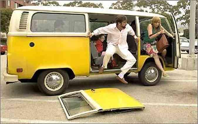 A Kombi fez sucesso no filme Pequena Miss Sunshine, uma comédia de 2006(foto: Fox Searchlight Pictures/Divulgação)