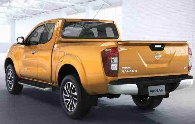 Frontier chega em novas variações como cabine estendida ou simples - Nissan/divulgação