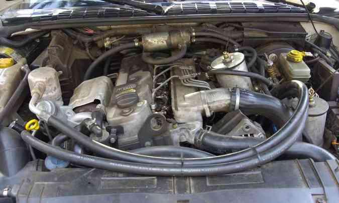 É recomendável conferir se o motor tem vazamento de óleo e mangueiras ressecadas(foto: Jorge Gontijo/EM/D.A Press)