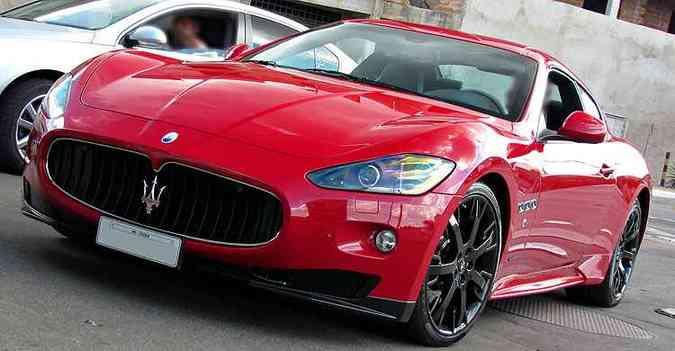 Maserati GranTurismo está presente em cidades como Belo Horizonte, Itaúna e Uberlândia(foto: Igor Herculano/Itaúna Super Carros/Divulgação)