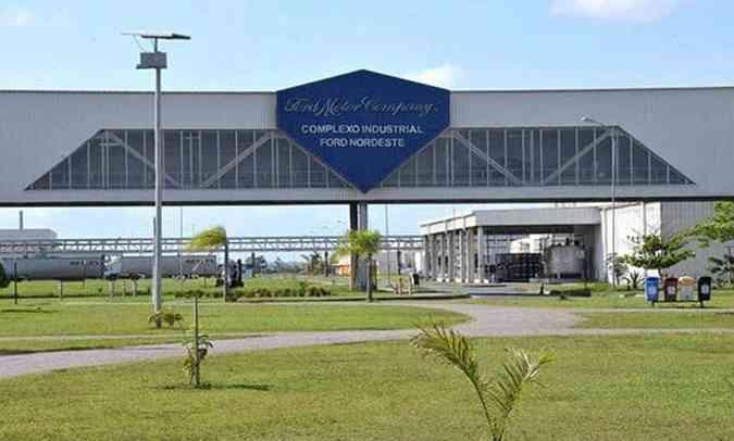 Planta de Camaçari, na Bahia, foi inaugurada em 2001(foto: Ford/Divulgação)