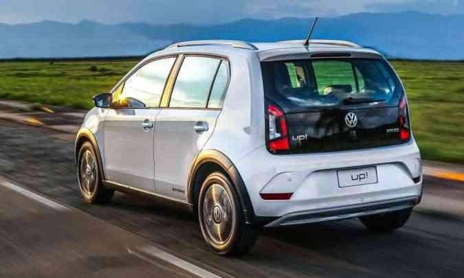 O modelo TSI do Up1 apresenta ótimos resultados(foto: Volkswagen/Divulgação)