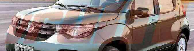 Fiat Mobi é o nome do novo hatch compacto da marca italiana(foto: Paulinho MIranda/EM)