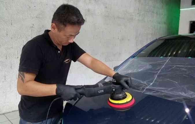 Modalidade pode ser aplicada, além da pintura, nas áreas plásticas e nos estofados(foto: Diamond/ divulgação )