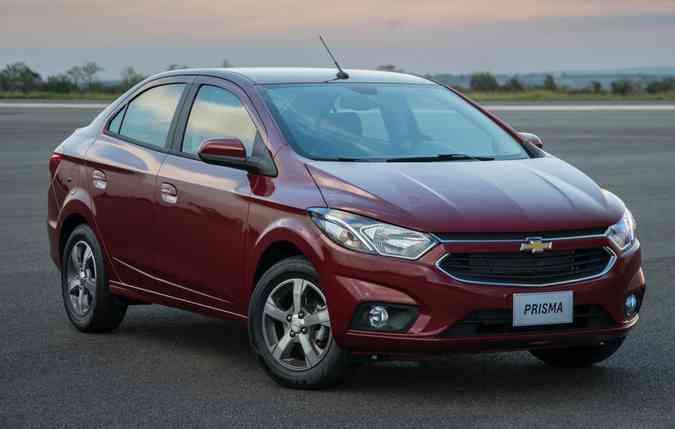 Prisma mais barato agora custa R$ 58.690. Foto: Chevrolet / Divulgação